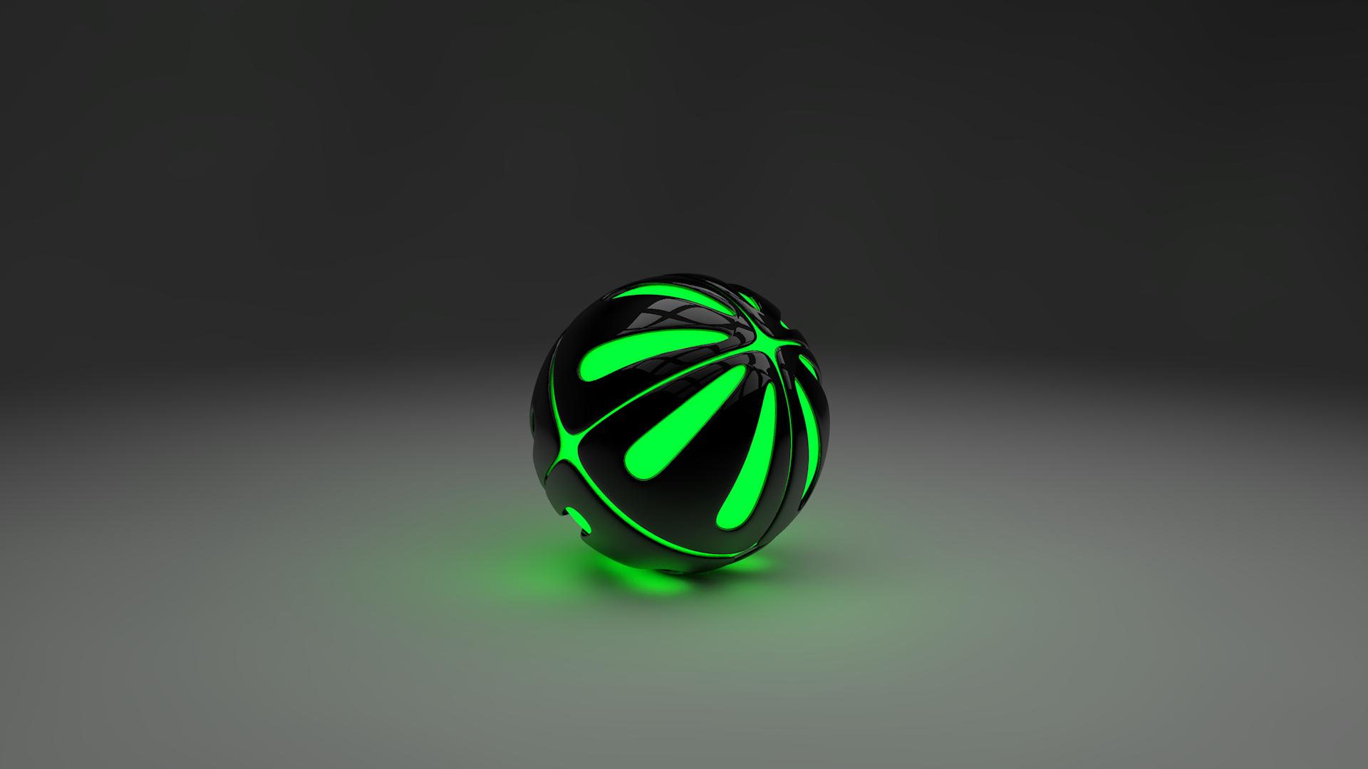 Неоновый шар  № 2880267 загрузить