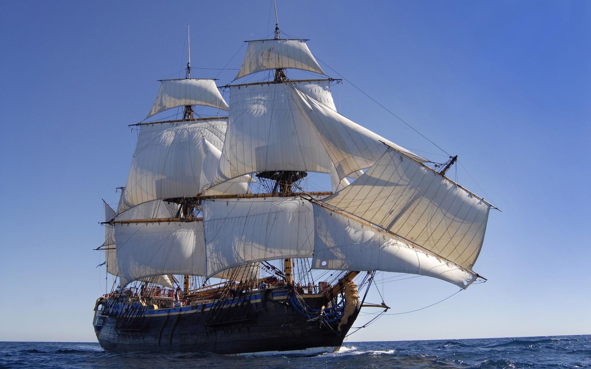 фото на рабочий стол старинные корабли нравится сочетать