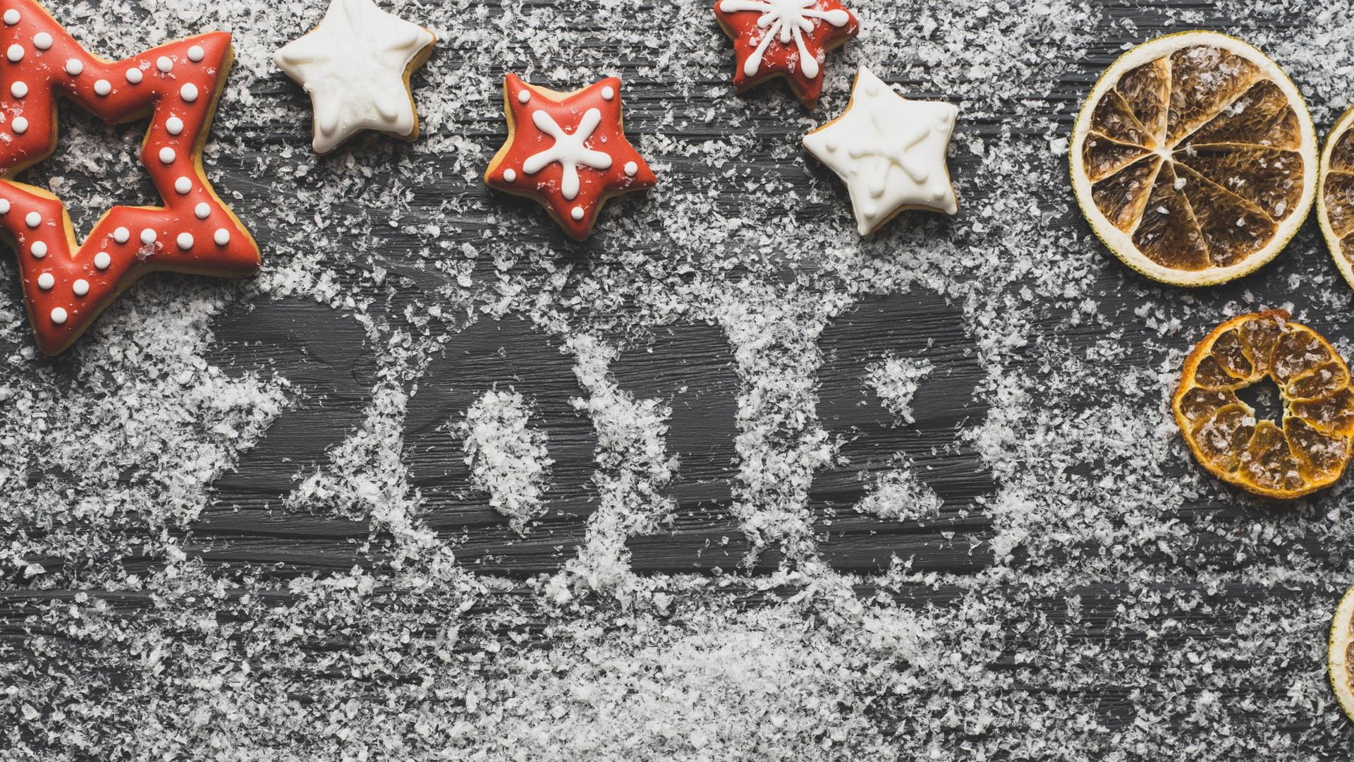 Картинки с надписями новый год 2018