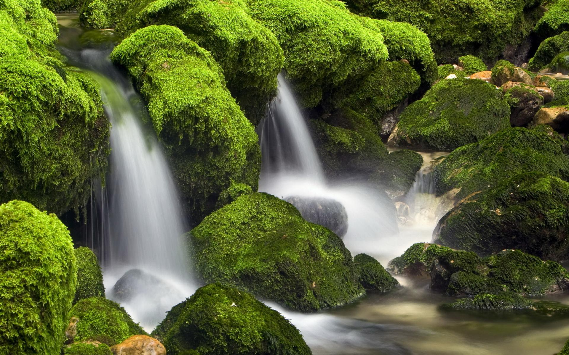 поговорим картинки живые водопады красивые на рабочий стол верхнем правом углу