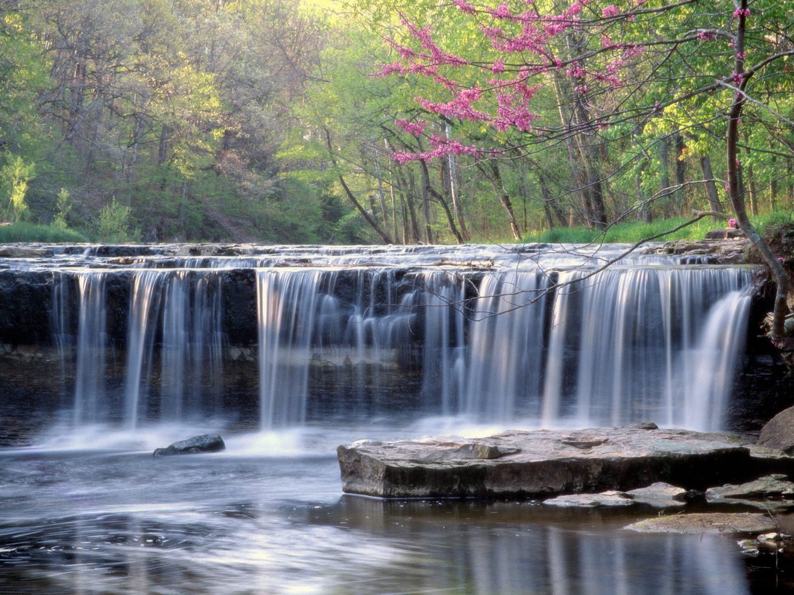 картинки весна природа водопады