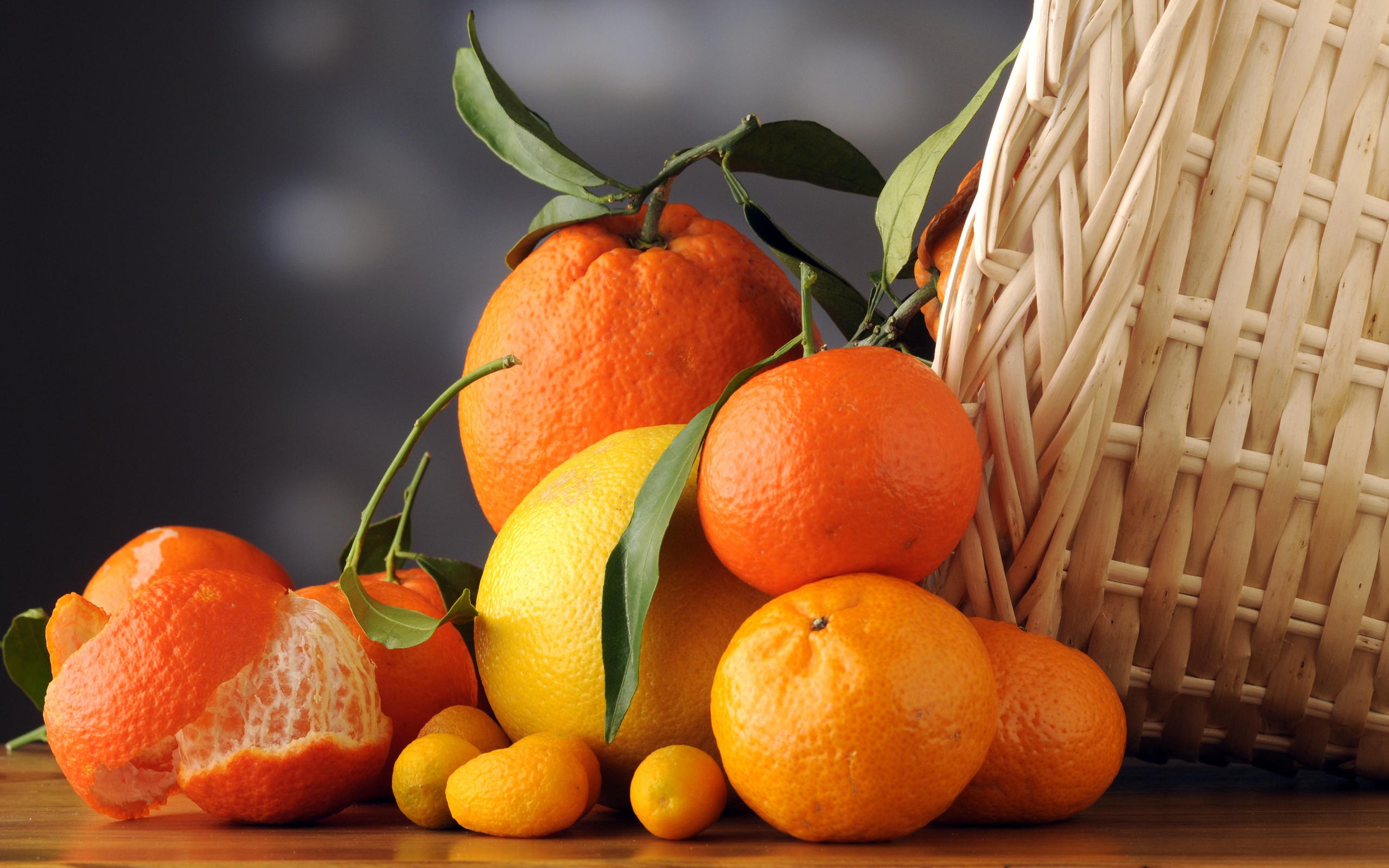 Апельсины картинка на рабочий