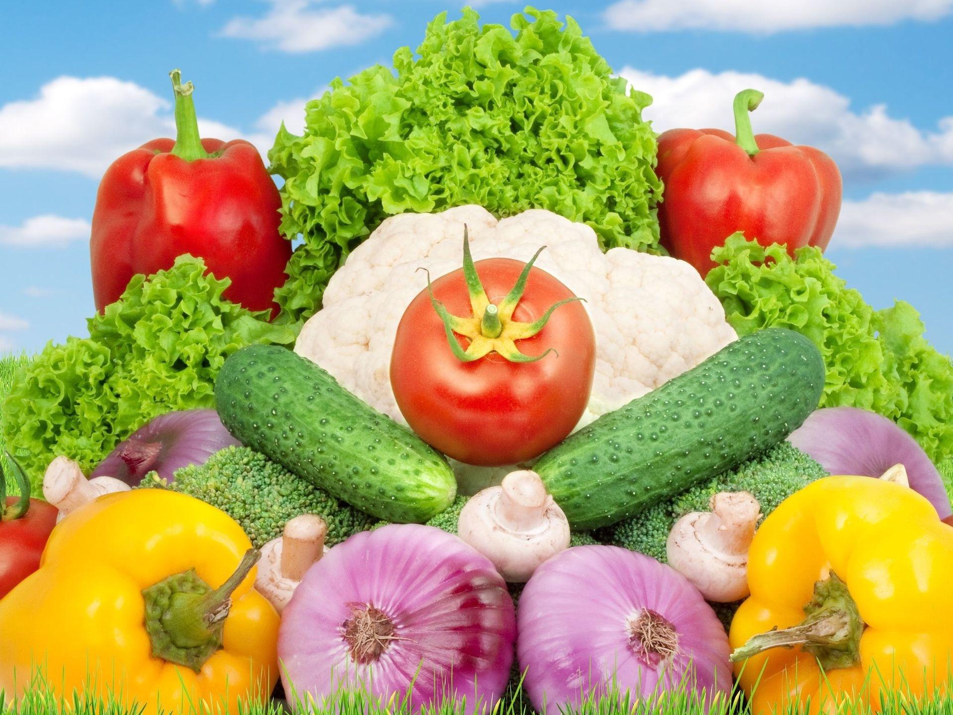 фотошопе, картинка реклама овощей обо всех комплектациях