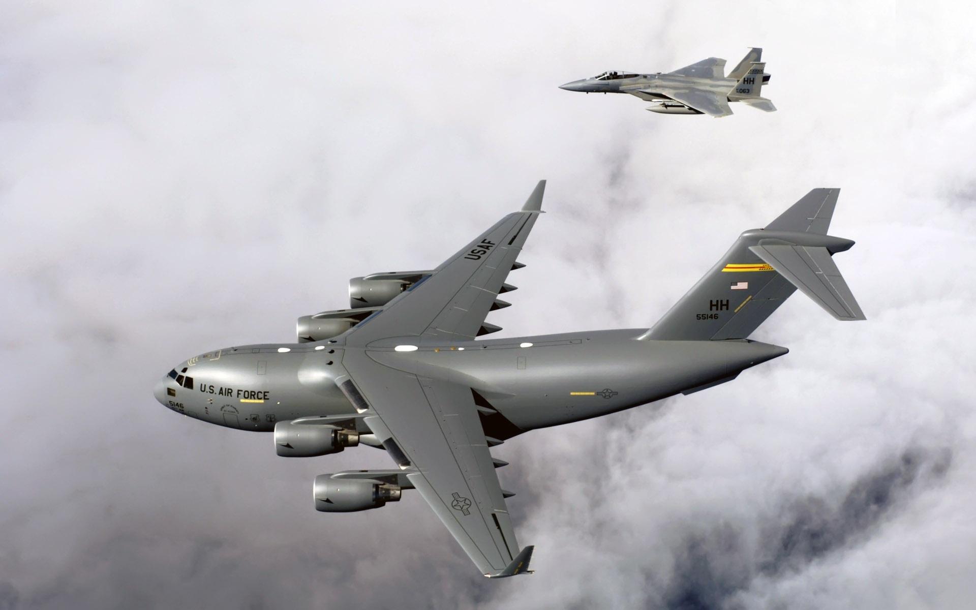 Обои самолеты, c-17 globemaster. Авиация foto 16