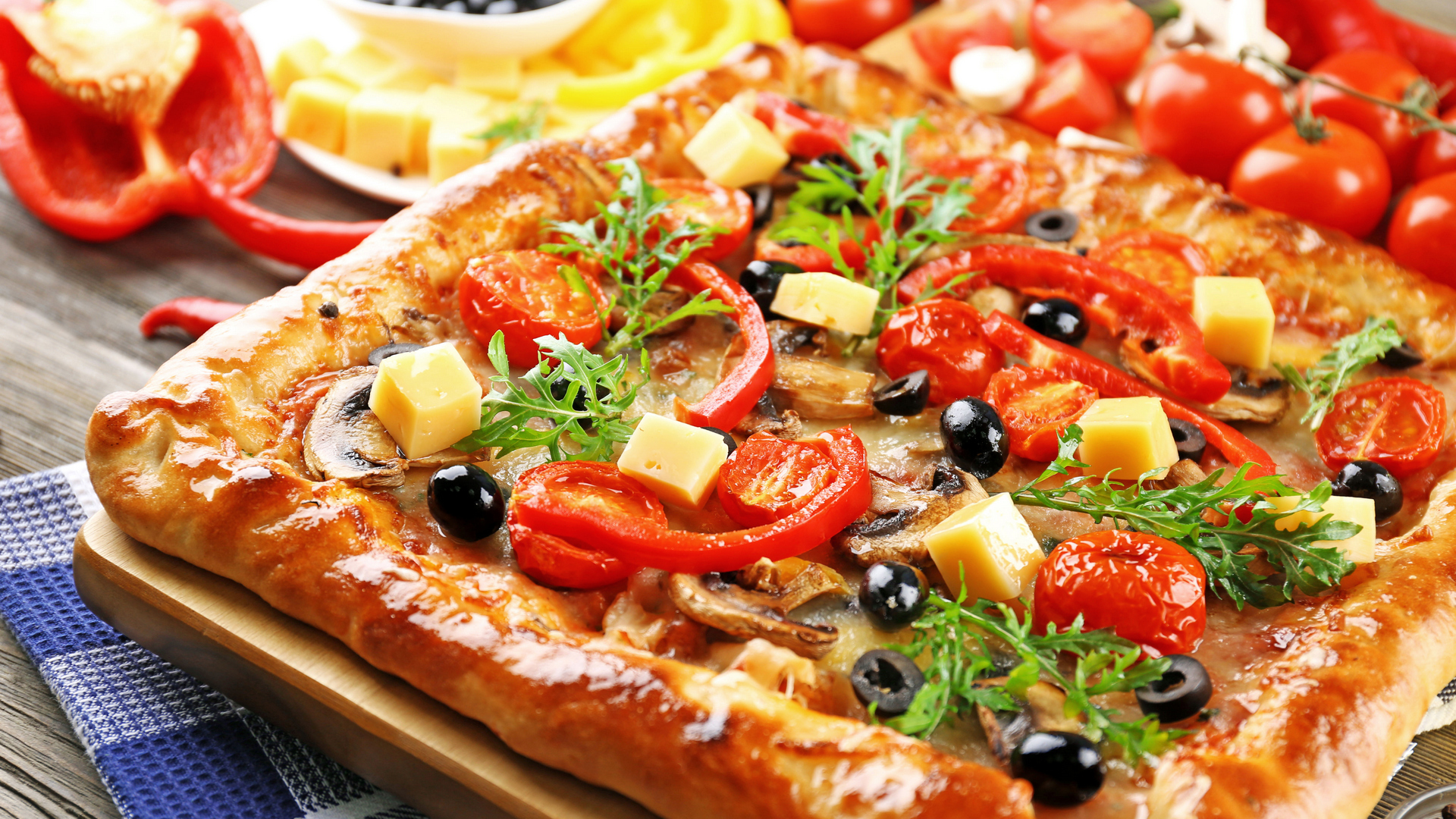 Группа пицца обои на рабочий стол