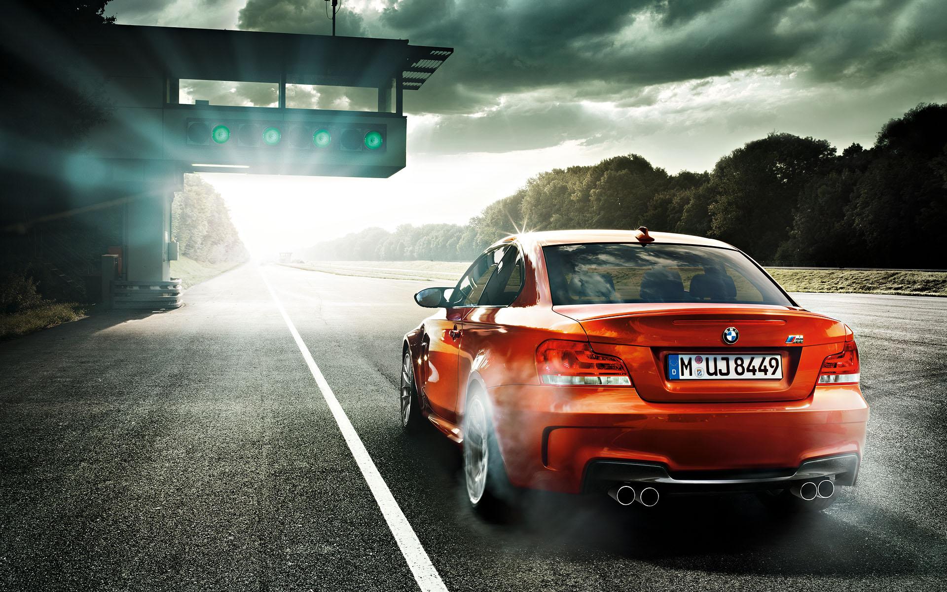 BMW перед оранжевая  № 843875 бесплатно