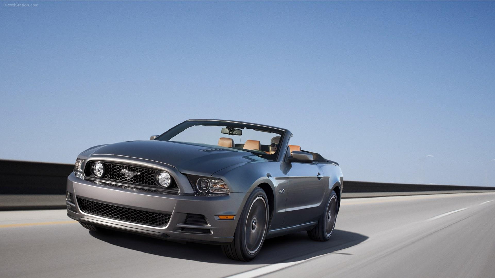 Ford Mustang кабриолет смотреть