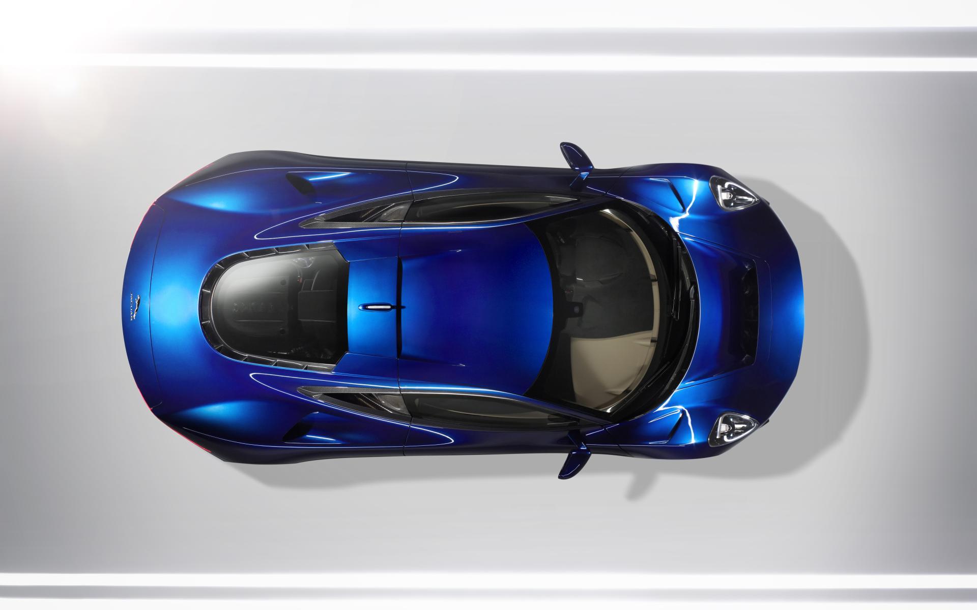 Jaguar C-X75 суперкар здание скачать