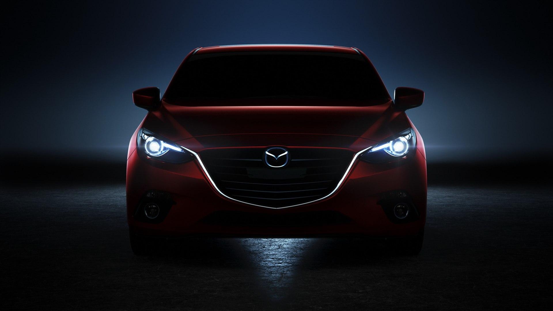 красный автомобиль фара Mazda CX-7 смотреть