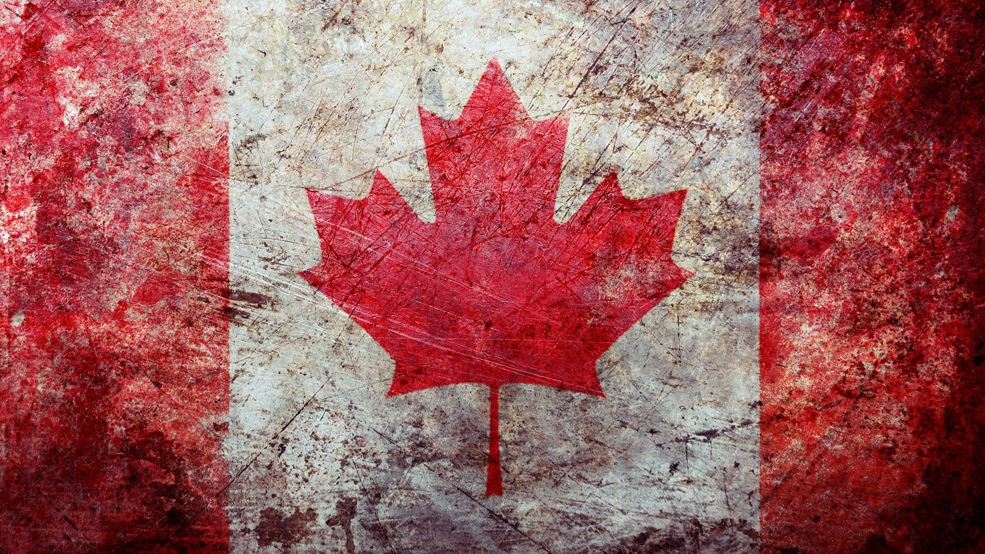 канадский флаг обои для рабочего стола № 506393  скачать
