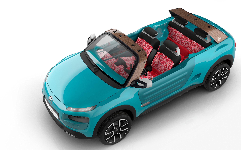 синий автомобиль citroen cactus m без смс