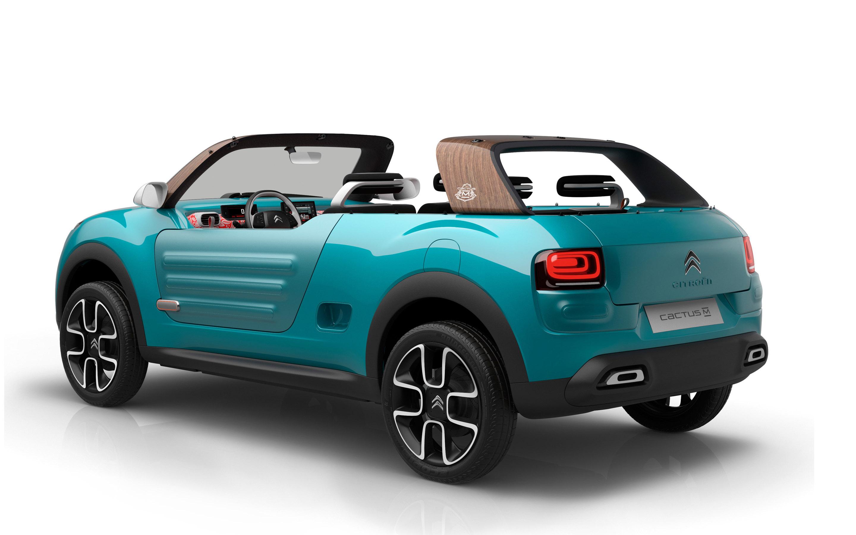 синий автомобиль citroen cactus m скачать