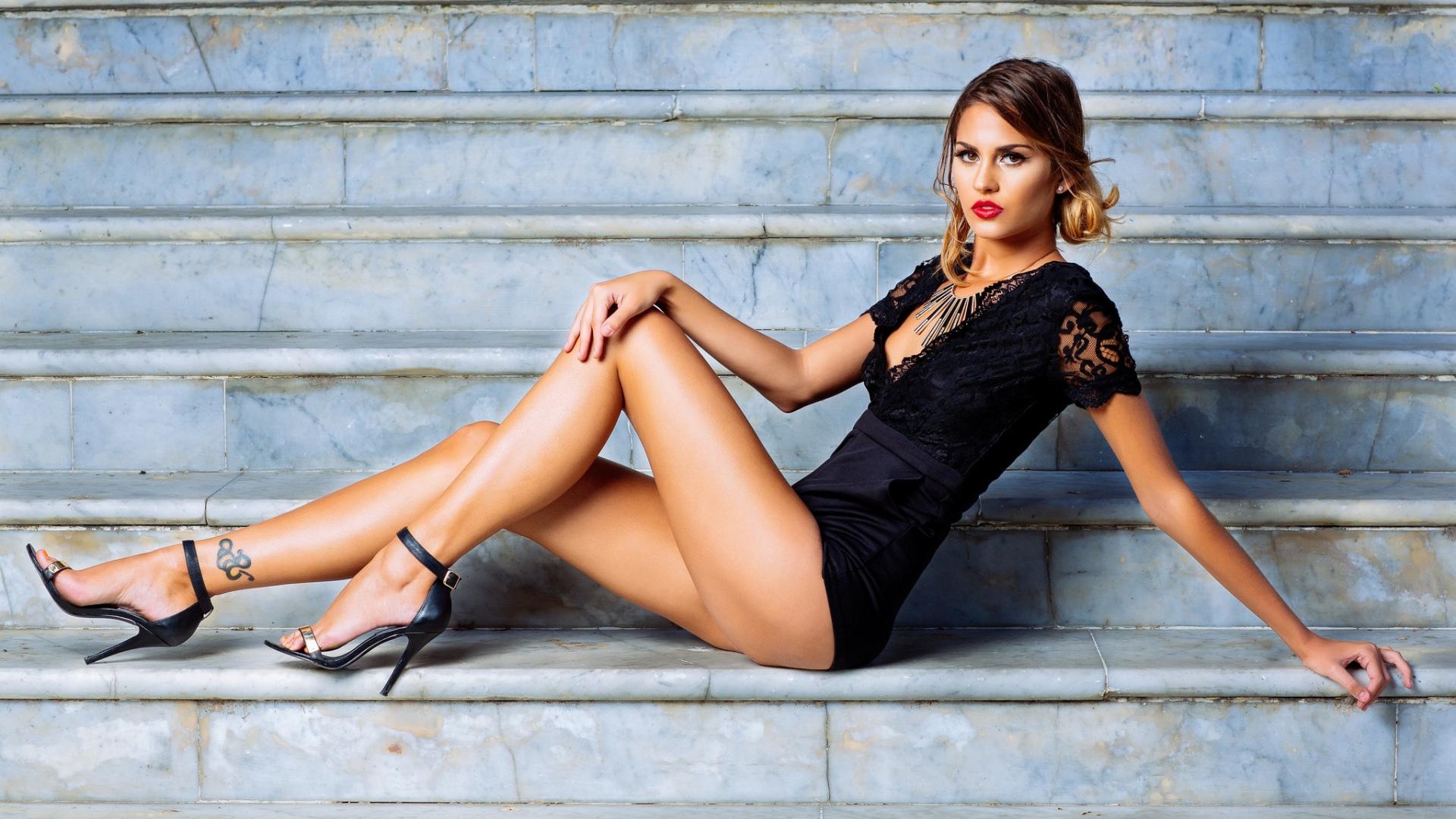фото русских девушек в босоножках красотка