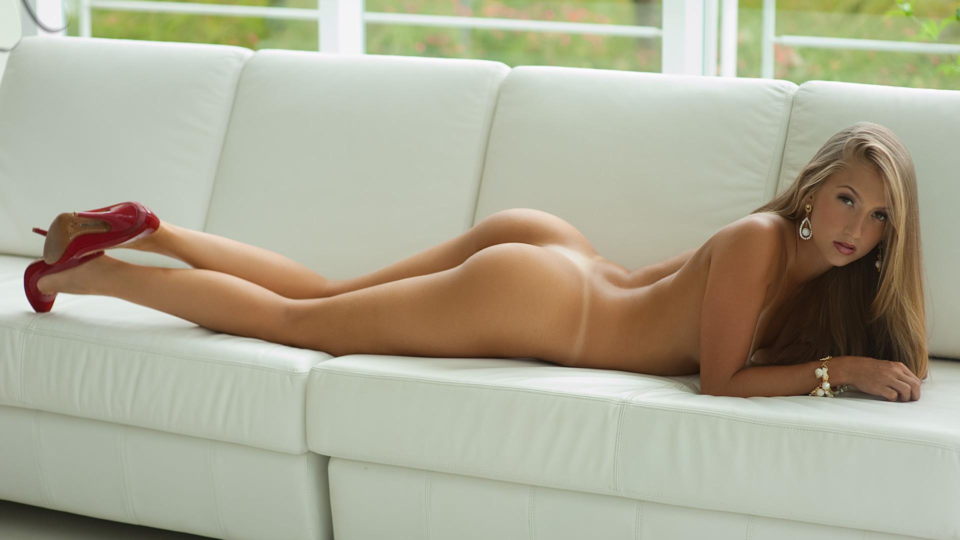 Wallpaper jana cova ass buttocks naked female couch