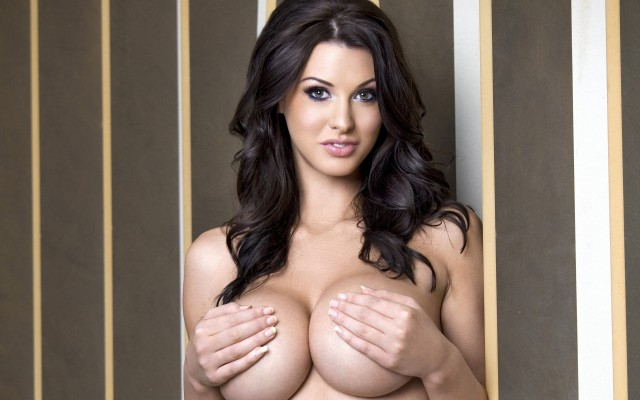Big Tits Alice Goodwin On The Green Chair Babesource 1