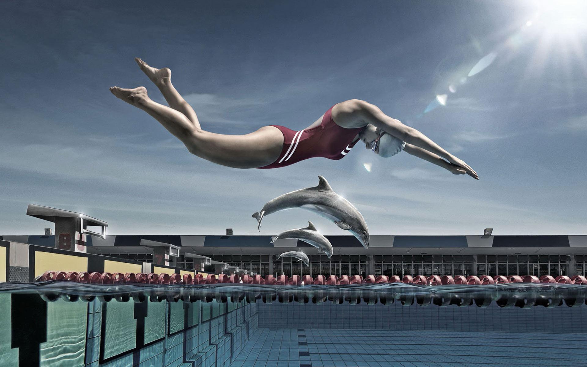 плавание фото картинки на рабочий стол чтобы навес подходил